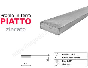 Profilo L grezzo 45x30x5 in barre da 2 metri
