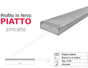 Tubo quadro zincato 15x1,5 in barre da 2 metri*