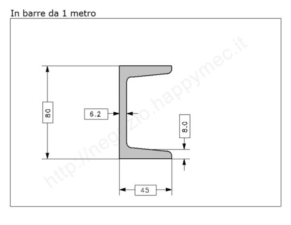 """Lettera Maiuscola """"D"""" stile saltino misura 150 in ferro battuto"""