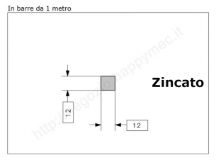 """Lettera Maiuscola """"M"""" stile saltino misura 100 in ferro battuto"""