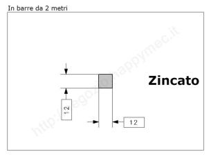 """Lettera Maiuscola """"M"""" stile saltino misura 150 in ferro battuto"""