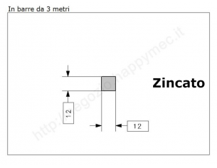 """Lettera Maiuscola """"M"""" stile saltino misura 200 in ferro battuto"""