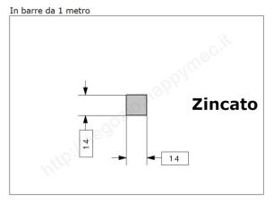 """Lettera Maiuscola """"O"""" stile saltino misura 100 in ferro battuto"""