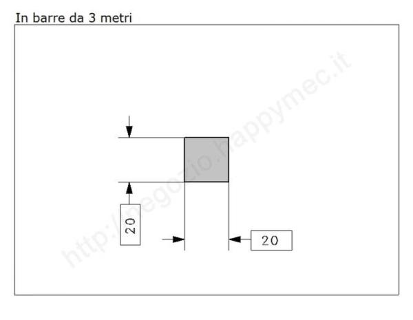 """Lettera Maiuscola """"V"""" stile saltino misura 200 in ferro battuto"""