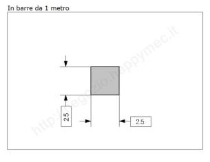 """Lettera Maiuscola """"X"""" stile saltino misura 100 in ferro battuto"""