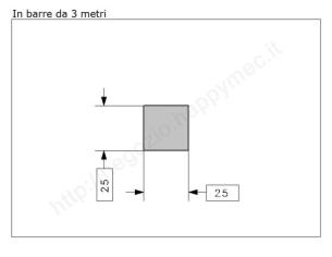"""Lettera Maiuscola """"X"""" stile saltino misura 200 in ferro battuto"""
