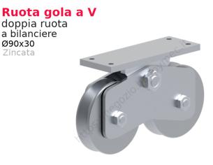 """Lettera minuscola """"y"""" stile saltino misura 100 in ferro battuto"""