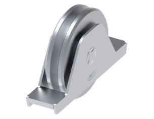 """Riccio a """"S"""" in piatto liscio 12x6 tipo 451 mis.125x250 in"""