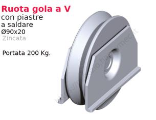 """Riccio a """"S"""" in piatto liscio 12x6 tipo 459 mis.100x300 in"""