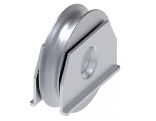 Sfera piena liscia in ferro Ø.100 mm