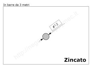 Cardine a fascia zinc. con piastra regolabile imbutita M18 a 2