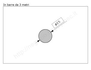 Cardine a fascia zinc. con piastra regolabile imbutita M22 a 4