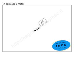 Cardine inox M18 con cavallotto e piastra a 4 fori