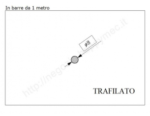 Cappello quadro zincato 120x120 mm.bordato cf.2 pz.
