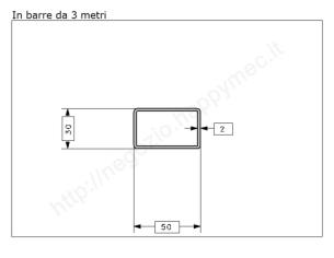 Carrello zincato 2 ruote d.24 (tipo) supporto stamp. per MR-C