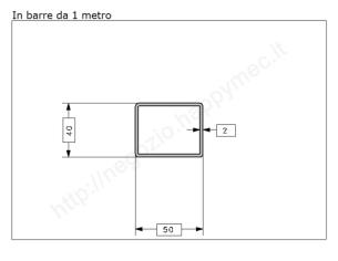 Carrello zincato 4 ruote d.24 (tipo) supporto stamp. per MR-C