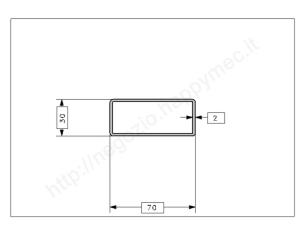Rosetta fusa tipo 201 in ferro grezzo diam. 75 mm