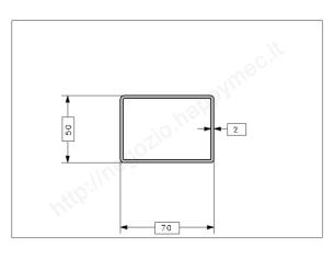 Rosetta fusa tipo 263 in ferro grezzo diam. 40x40 mm