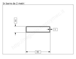 Rosetta fusa tipo 265 in ferro grezzo 85x70 mm