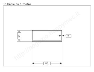 Rosetta fusa tipo 288 in ferro grezzo diam. 58 mm