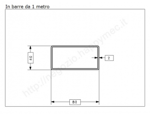 Lamiera grezza sp.1 mm. foglio 1000x2000 mm la trovi online