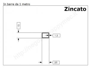 Lamiera grezza sp.2 mm. foglio 1000x2000 mm la trovi online