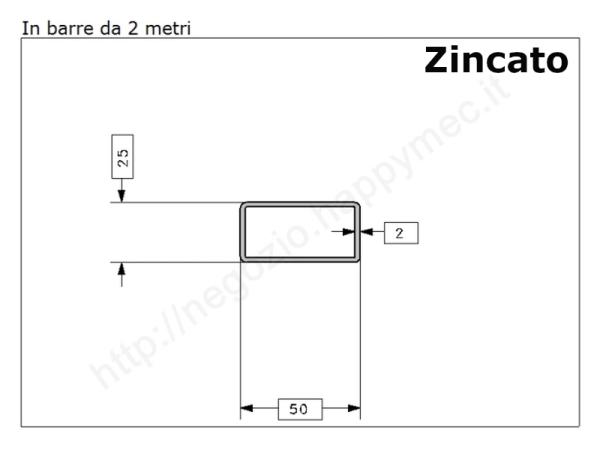 Cardine a fascia per tubo quadro 40x40 a fissaggio rapido