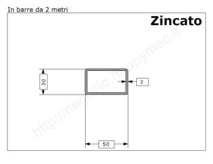 Cardine alettato M18 zinc. con fissaggio rapido