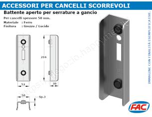 Protezione zincata per oliva mis.d.40x60 la trovi online