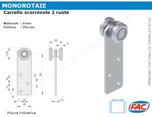 Profilo piatto zincato.110x10 in barre da 2 metri