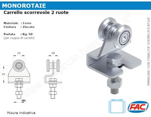 Profilo piatto zincato.110x12 in barre da 2 metri