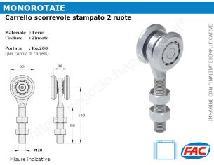 Profilo piatto zincato.110x15 in barre da 2 metri