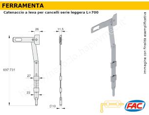 Profilo piatto zincato.120x10 in barre da 2 metri