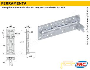 Profilo piatto zincato.120x12 in barre da 2 metri