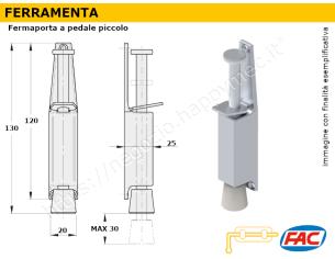 Profilo piatto zincato 20x 8 in barre da 1 metro