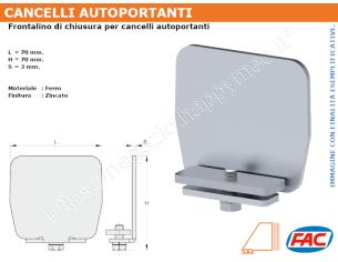 Profilo piatto zincato 25x10 in barre da 1 metro