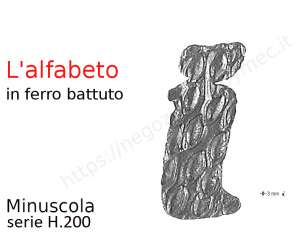 Profilo piatto zincato 25x12 in barre da 1 metro