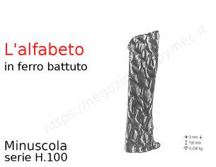 Profilo piatto zincato 25x20 in barre da 2 metri
