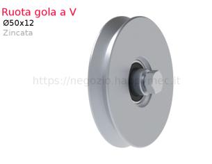 Profilo piatto zincato 90x 5 in barre da 2 metri