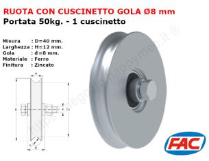Profilo piatto zincato 90x10 in barre da 2 metri