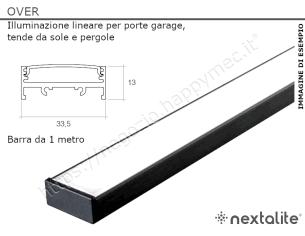 Profilo piatto zincato 35x 4 in barre da 1 metro