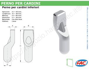 Profilo piatto zincato 50x 3 in barre da 2 metri