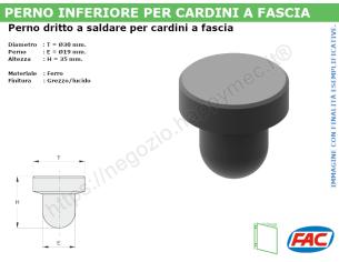 Profilo piatto zincato 50x15 in barre da 3 metri