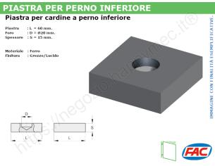 Profilo piatto zincato 90x 8 in barre da 2 metri