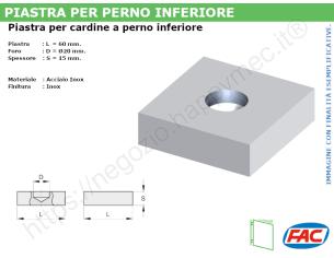 Profilo piatto zincato 90x 6 in barre da 2 metri