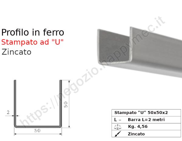 Angolare grezzo 100x8 in barre da 3 metri